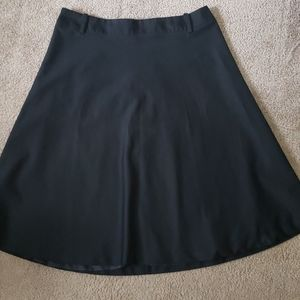 Merona Simple Black Skirt